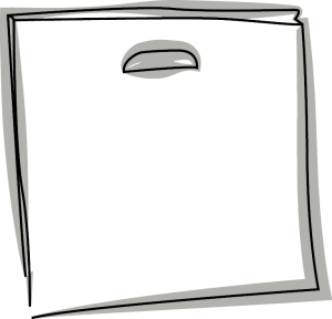 Skizze einer Griffloch Tasche