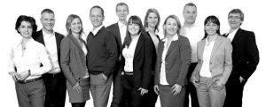 Teamfoto des DRUFA Pack Teams