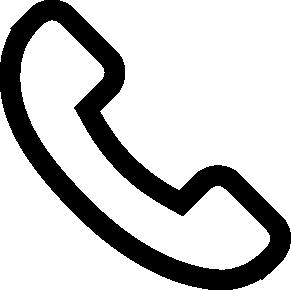 Icon eines Telefonhörers (Phone / Telefon)