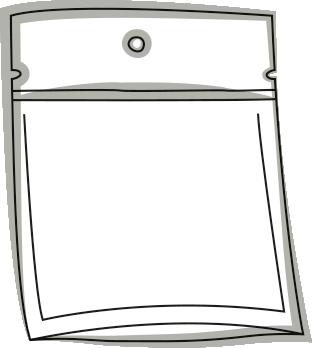 Skizze einer Verpackung - Doypack